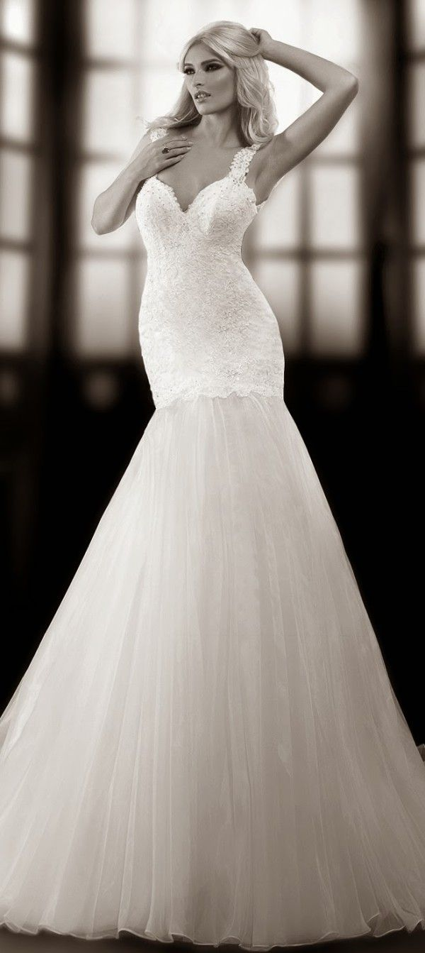 One Love by Bien Savvy 2014 Bridal Collection... this would be almost perfect if it was strapless