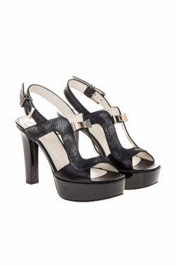 Sandálias com plataforma