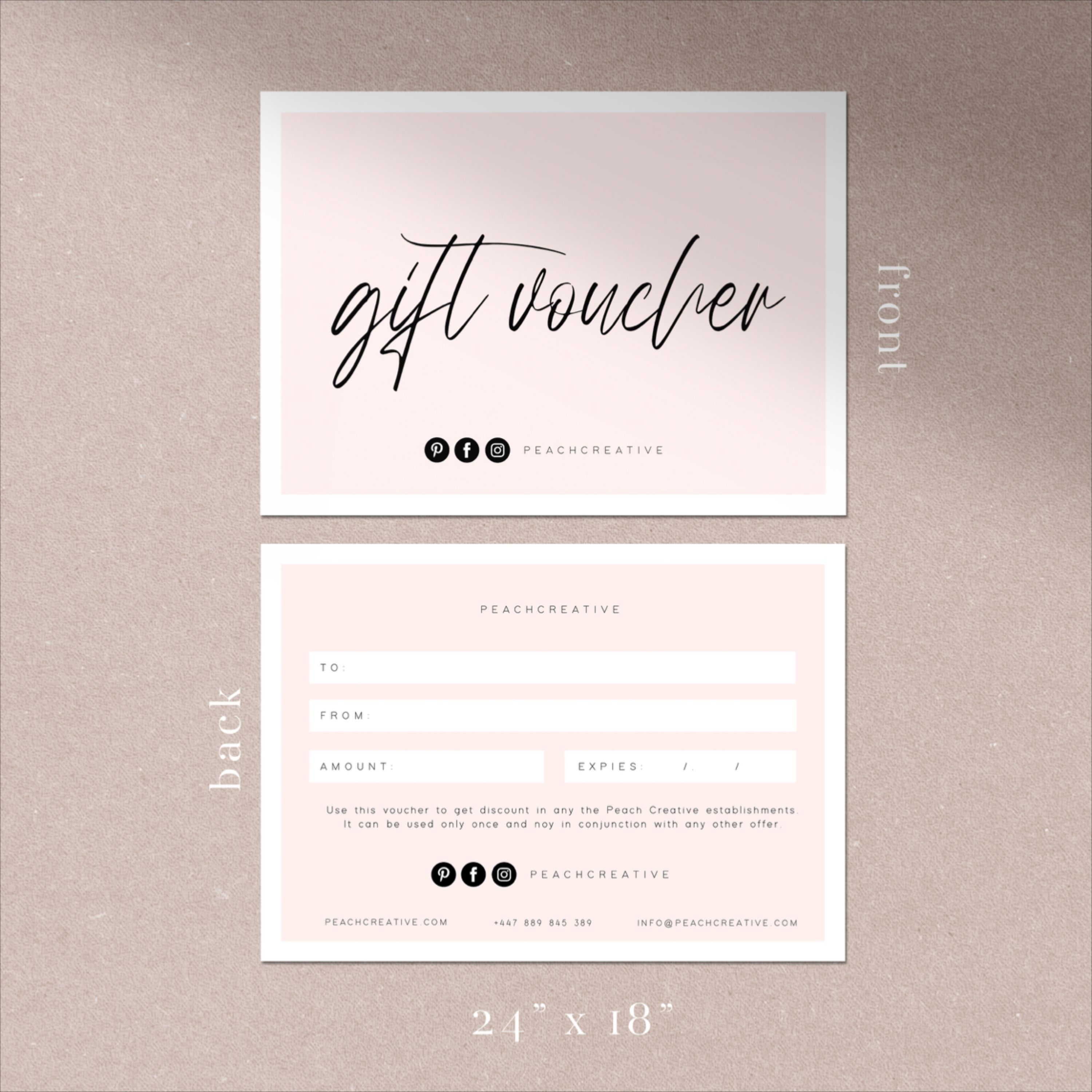 Small Business Gift Voucher Template Editable Gift Certificate Template Printable Gift Cards Diy Shop Voucher Customisable Gift Voucher Gift Certificate Template Small Business Gifts Gift Voucher Design Gift certificates for small business