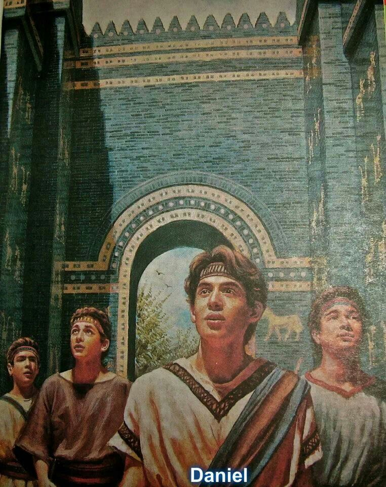 Daniel and his three companions were selected to receive special training in the writing and the tongue of the Chaldeans to equip them for governmental service. In accord with custom, they were given Babylonian names, Daniel's being Belteshazzar, according to the name of Nebuchadnezzar's god. Da 1:3-6; & 1:7; & 4:8; & 1:19-21 He did refuse to eat the delicacies of the king, and he did refuse to worship Babylonian gods.