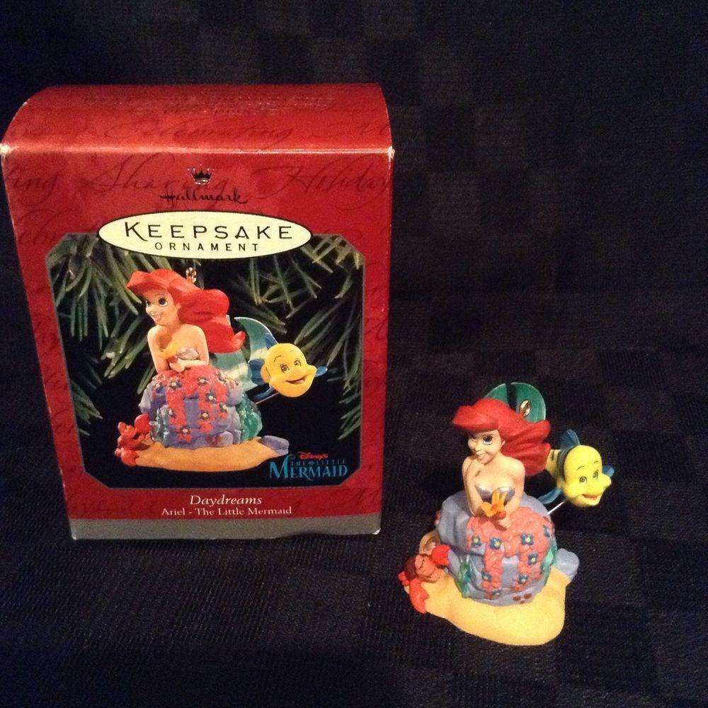 NIB Hallmark Keepsake Ariel Little Mermaid Daydreams Christmas Tree Ornament