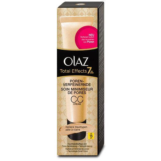 Olaz Total Effects 7 in one porenverfeinernde CC Cream, Farbe: für ...