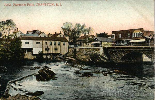 Pawtuxet Falls - Cranston RI -