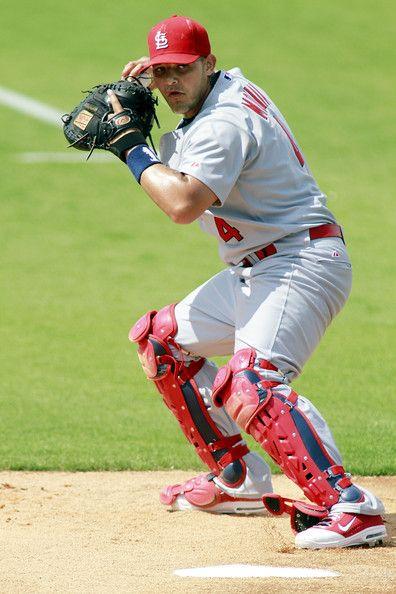 Photo of Yadier Molina Photos Photos: St. Louis Cardinals v Florida Marlins