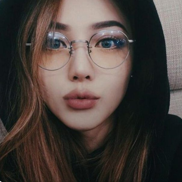Sympathise with glasses asian face
