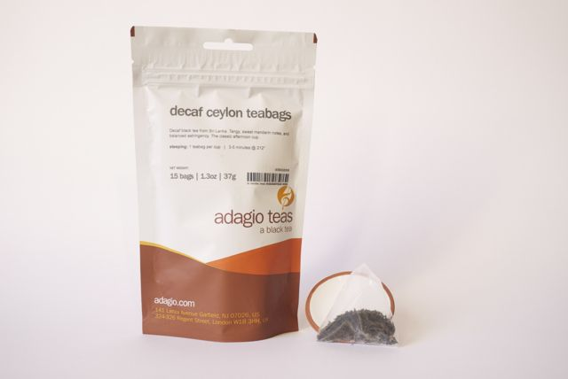 Decaf Ceylon ( 15 pyramid teabags for £4.00 ) For brewing instructions, more info and our full range of fabulous teas go to www.wtea-emporium.co.uk