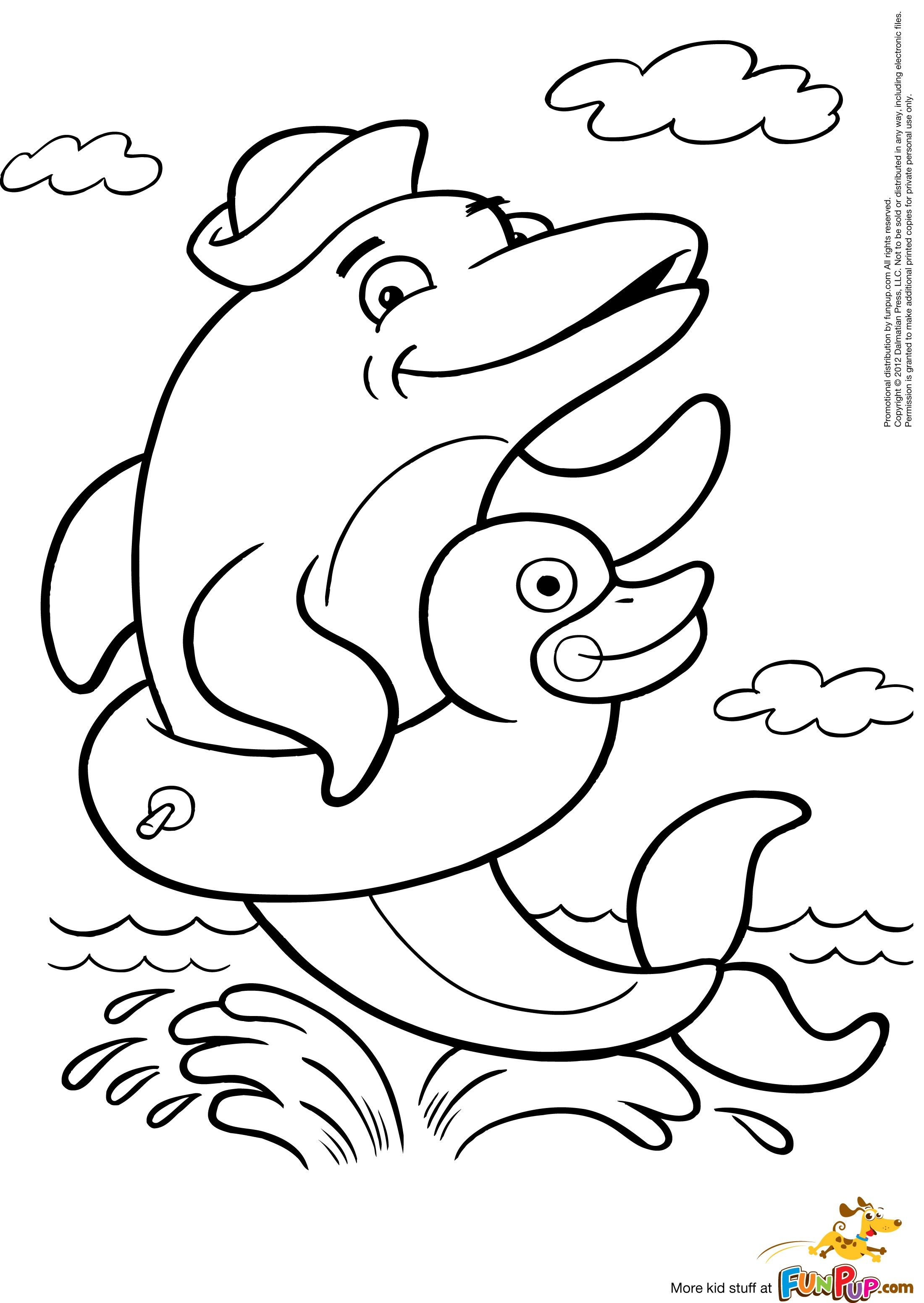 Free dophin Color Pages Printable Yahoo Image Search