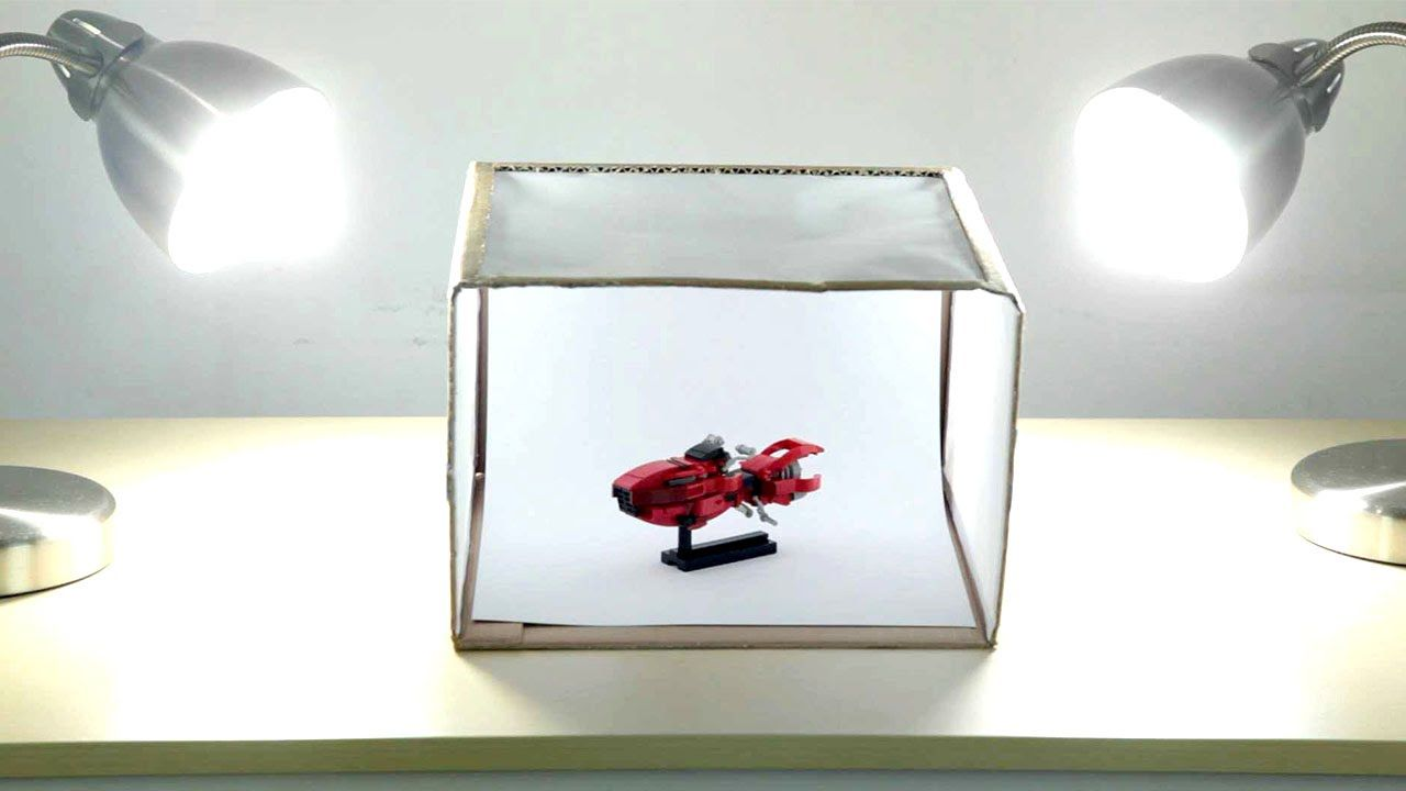 Easy And Cheap Photo Lightbox Tutorial Diy Light Box Diy Photo Light Box Diy Lighting