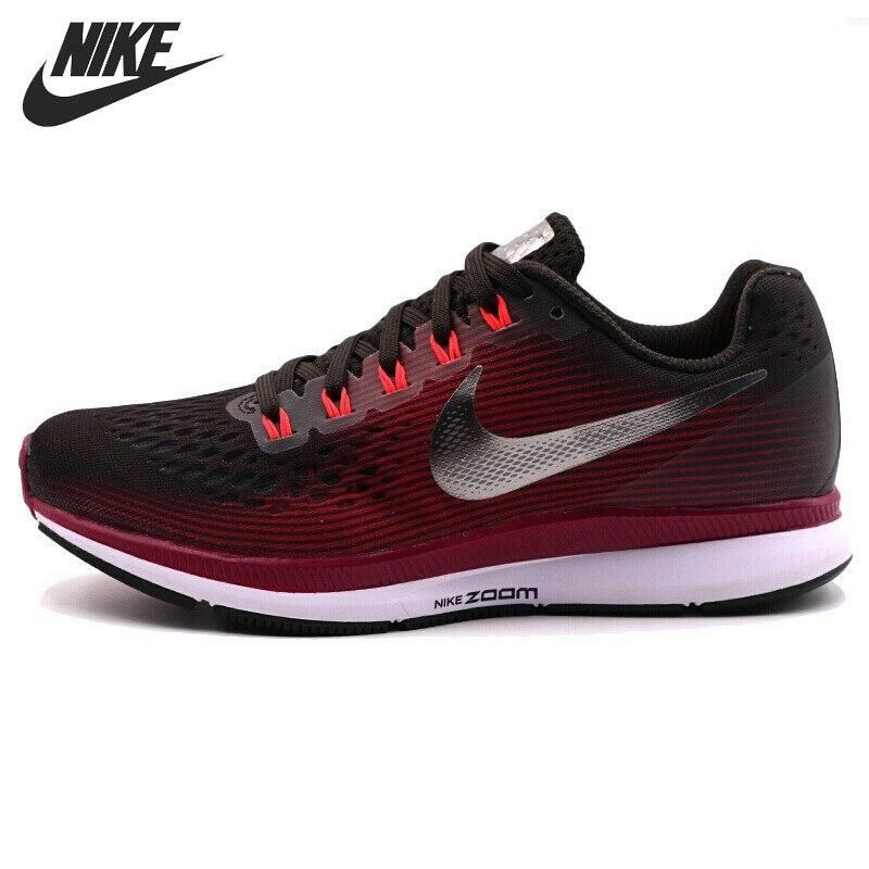 Nike Air Zoom Pegasus 34 Gem Grey Running Shoes for Women's