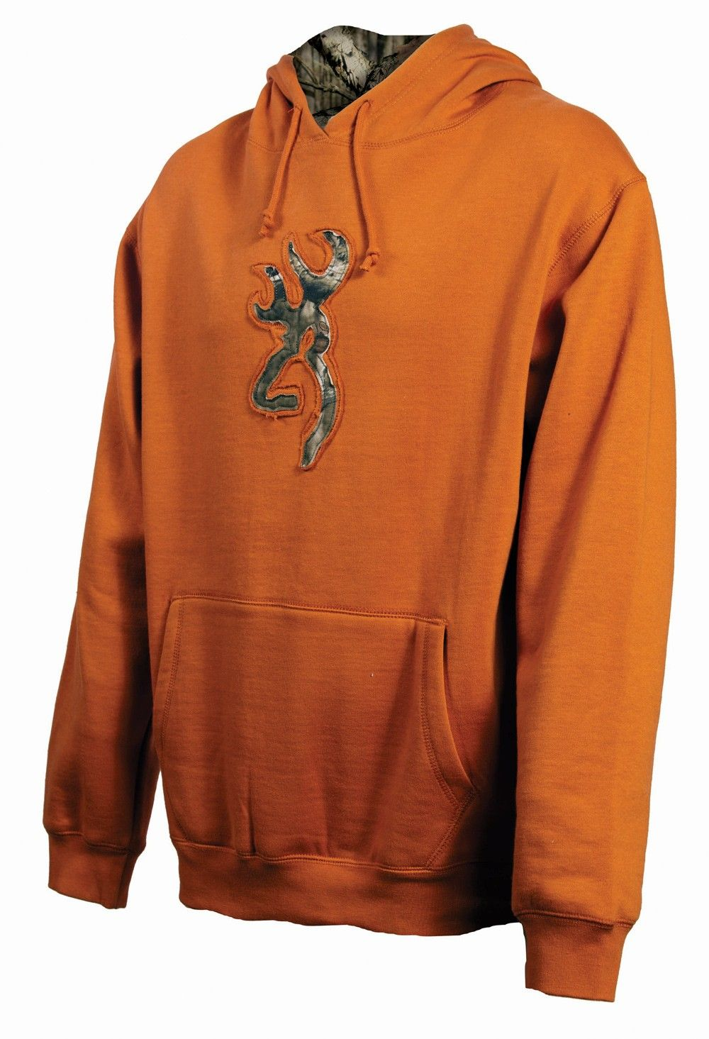 9a1c6843a293c Men's Browning Buckmark Orange Hoodie. Mmmmm Cozy. $49.95 | His Camo ...