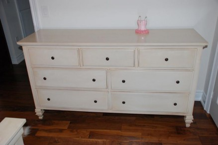 Solid Wood Diluciano White Dresser Furniture Homedecor