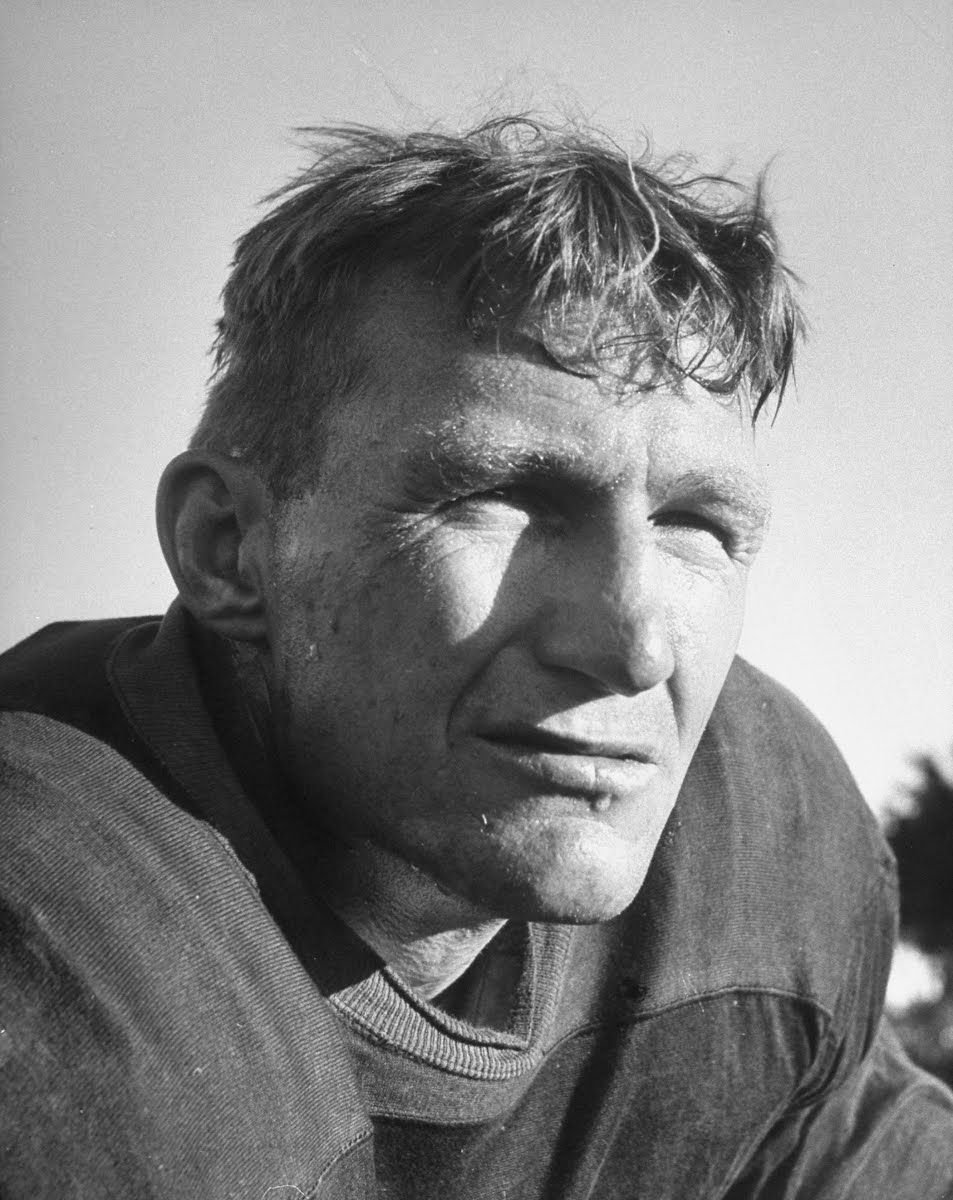 All American football player 1940's (Life)
