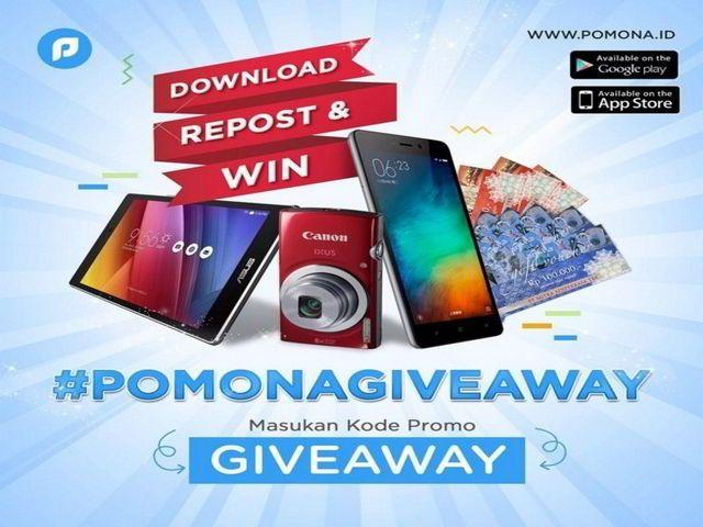 Kuis Pomona Giveaway Berhadiah Hp Xiaomi Redmi Note 3 Hadiah Kuis