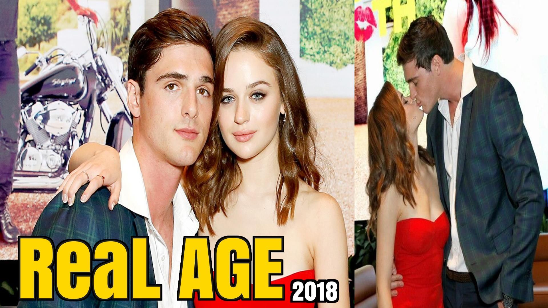 The Kissing Booth Cast Real AGE 2018 Kissing booth