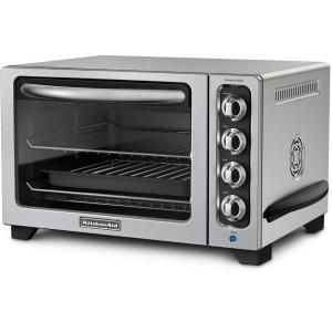 Kitchenaid 12 In Countertop Convection Oven In Contour Silver