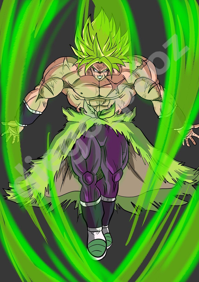 Dragon ball gt broly - Broly dragon ball gt ...