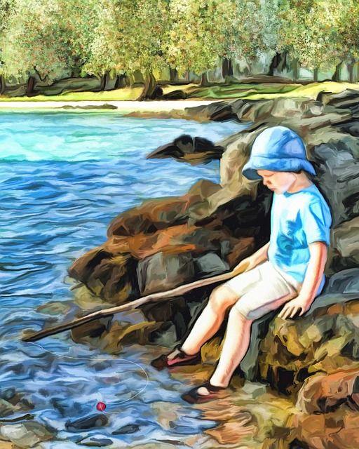 Free Image On Pixabay Fishing Lake Landscape Pond