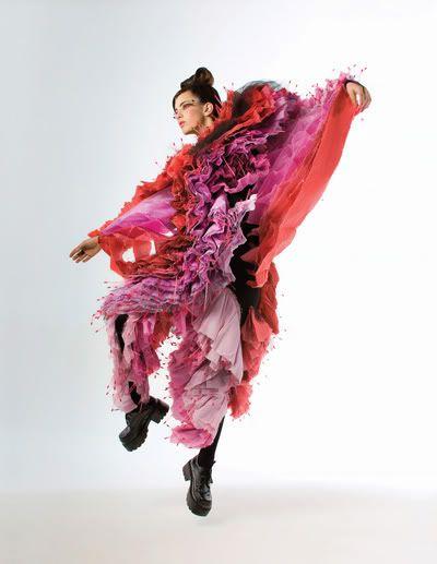 Andrea Saltzman - estudo sobre roupas performáticas