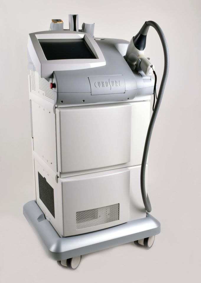 Cynosure Palomar Vectus Medical Device Design Cosmetics Laser Laser Hair Reduction