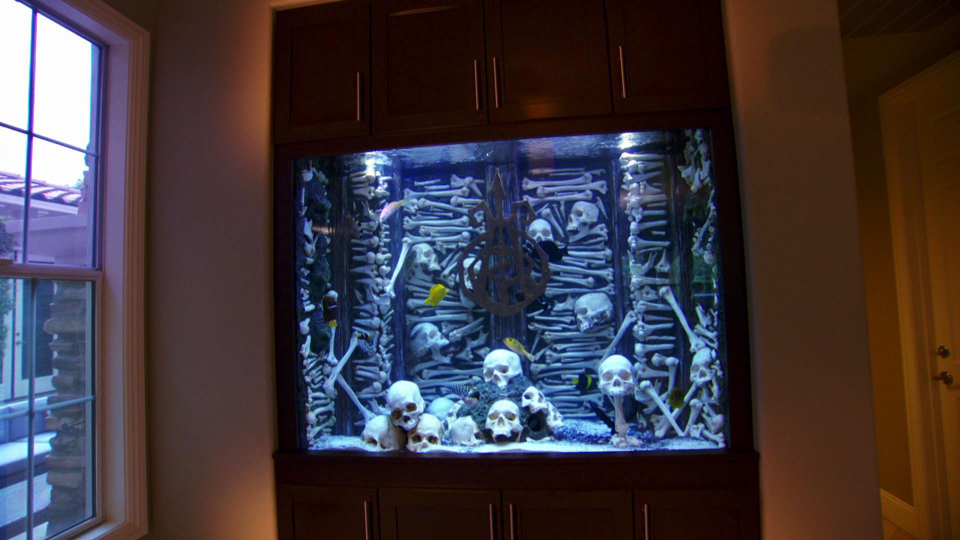 Gothic fish tank
