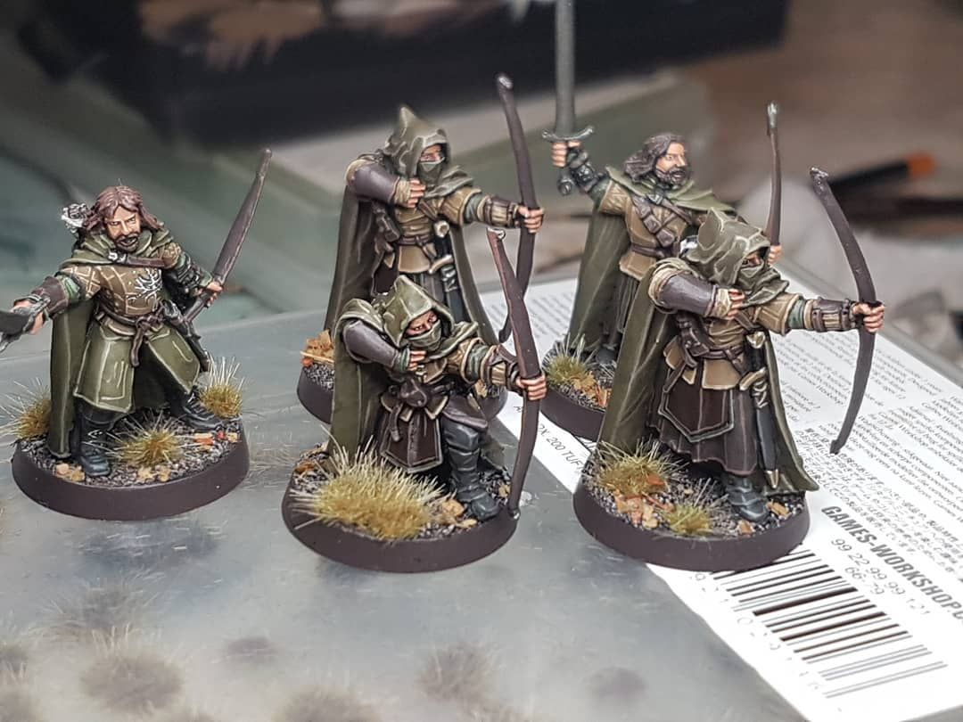 Angers Of Ithillien Archery Army Archer Bow Fantasy Forest