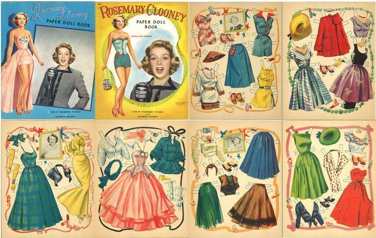 Printable Vintage Paper Doll | Paper Dolls Vintage Printable Free | Paper Dolls Vintage Paper Dolls ...