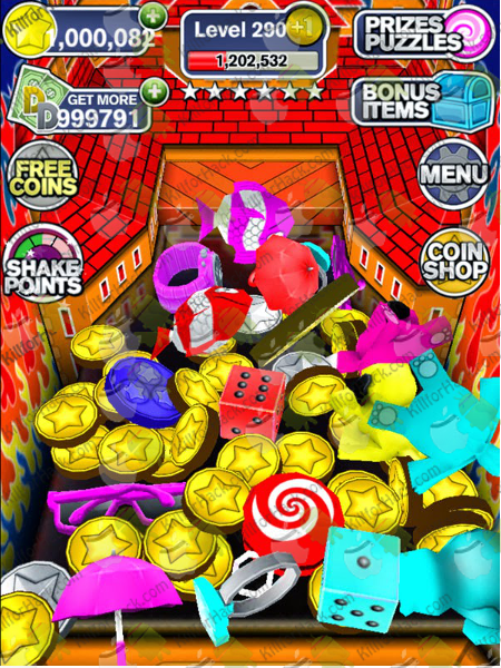 Coin Dozer Hack - Cheats for iOS - Android Devices - Unlimited