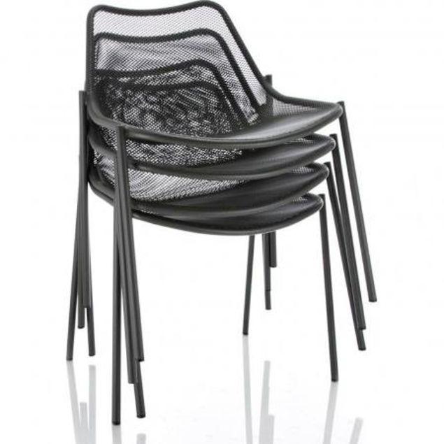 de terrasse légère bar empilable Chaise Sledgemobilier otdCsQrxhB