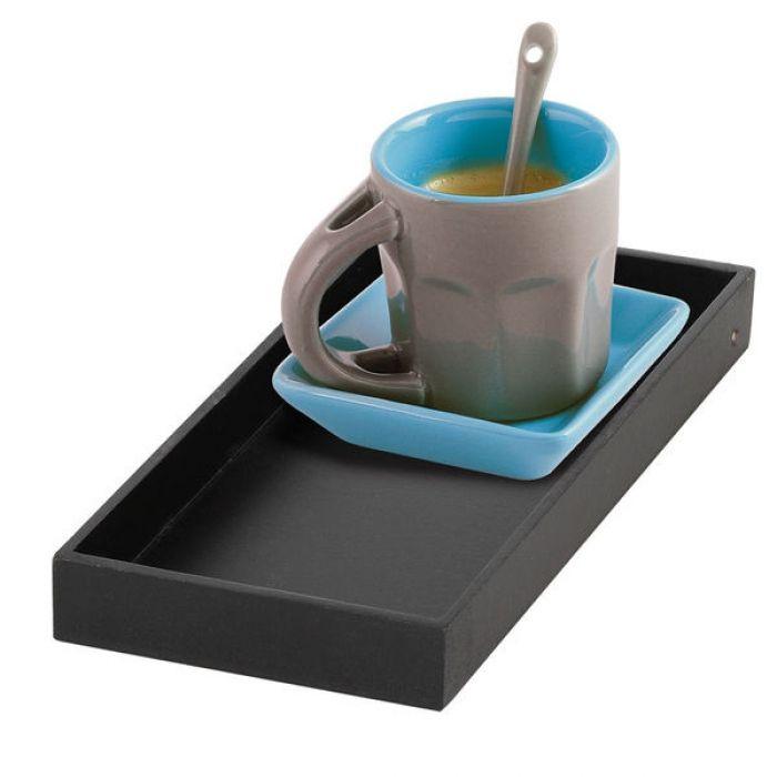 Service à café solo bleu en céramique MEN203B - Tasses / Mugs / Bols - Kitchen Artist
