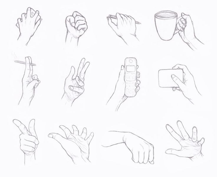 Pin On Hands Drawing Reference Tutorials