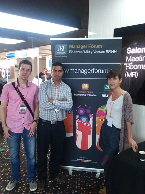 Parte del equipo de marketing asistió el 14/05/13 al Manager Forum de Marketing y Ventas en Barcelona.