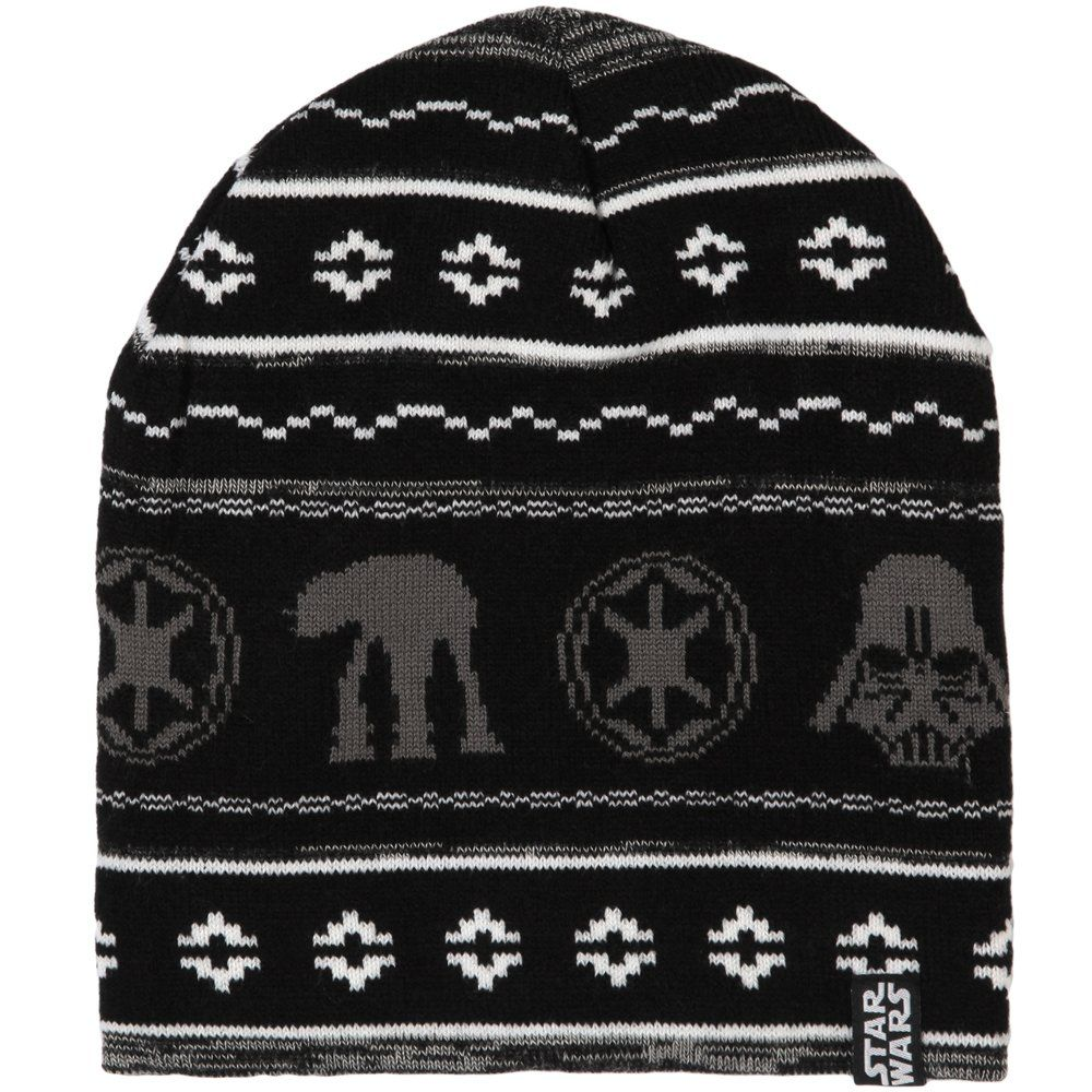 1e8da368732 Amazon.com  Star Wars Holiday Knit Beanie Hat  Clothing