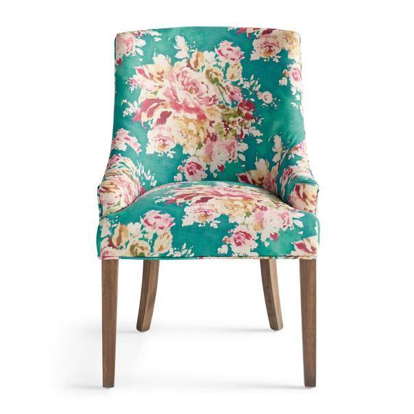 Best Aimee Accent Chair Fg Orange Blue Orange Green 400 x 300