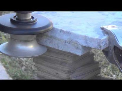 Top Tip To Bullnose Granite Countertop Diy Using Diamond Profile
