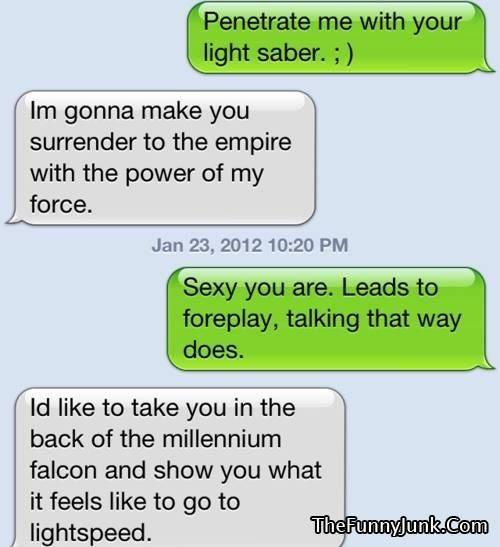 Dirty talk sexting