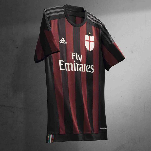 new product 21957 0f100 adidas 2015/16 AC Milan Home Kit | Ac Milán. .. | Adidas ...