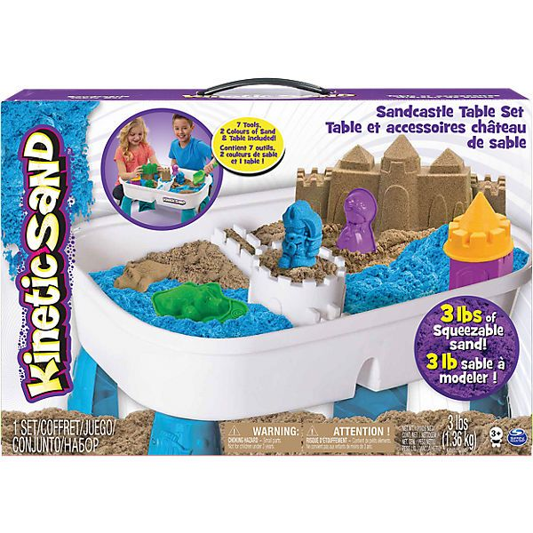 kinetic sand tisch