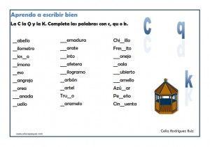 Ejercicios Ortografía Primaria Ortografia Ejercicios Actividades De Ortografía Ortografia Para Niños