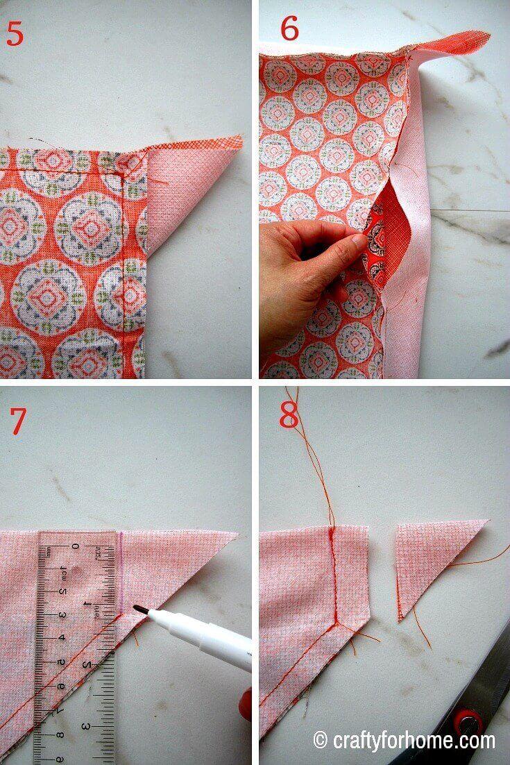 Self Binding Cloth Napkins – DİKİŞ 4