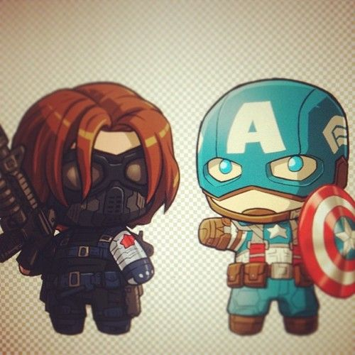 Funko Mystery Minis MARVEL CIVIL WAR CAPITAN AMERICA WINTER SOLDIER PERSONAGGIO IN VINILE