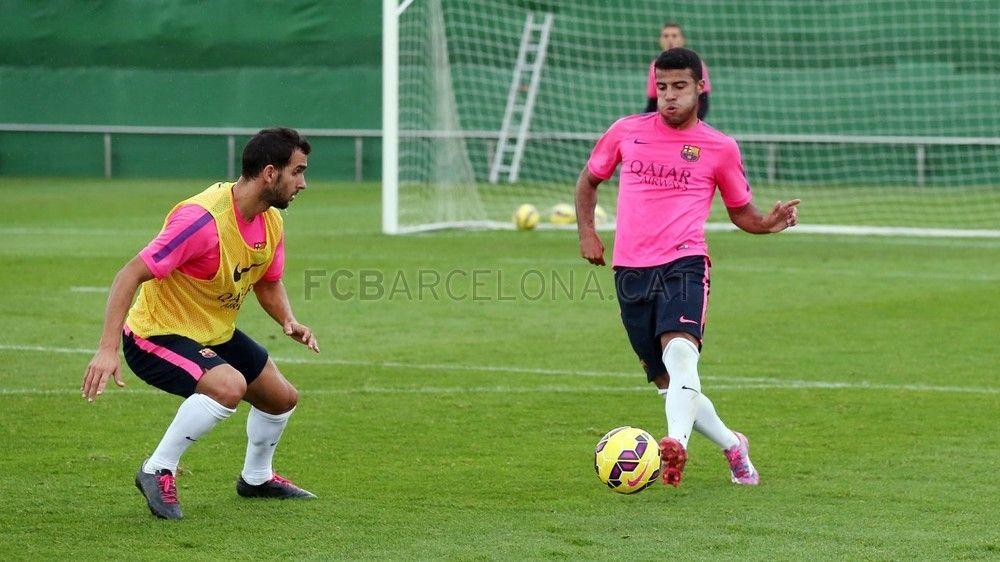 Entrenamiento 27/10/2014 | FC Barcelona