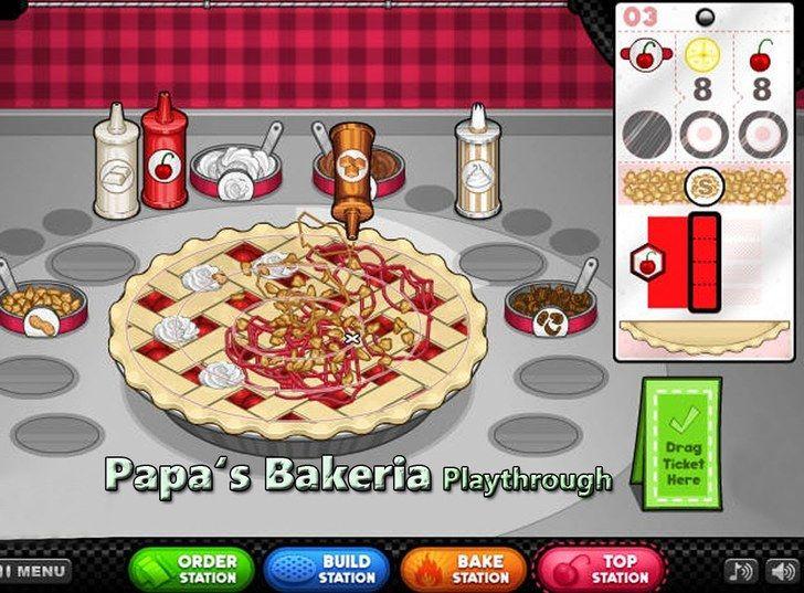 Papa S Bakeria Gameplay Http Friv3 Games Org Papa S Bakeria Html Papa Gameplay Games