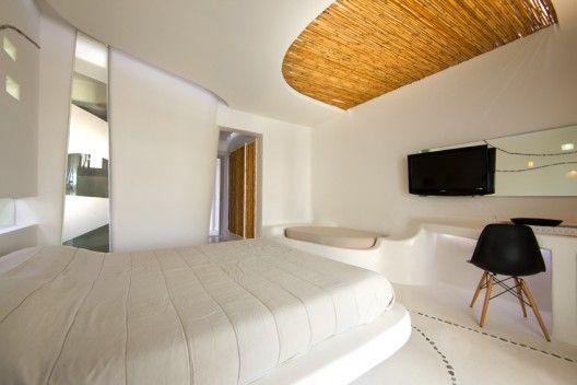 Andronikos Hotel Interiors / Klab Architecture   Mykonos, Hotel room ...