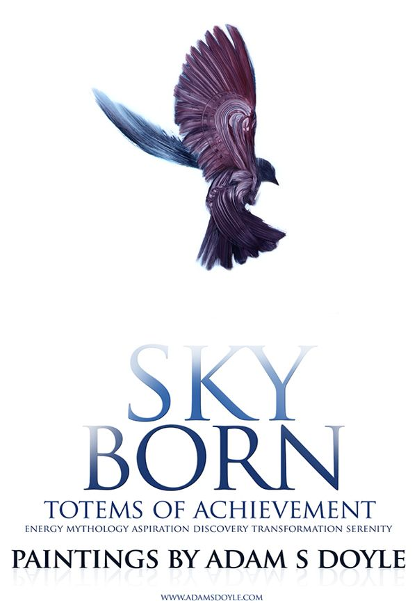 Sky Born - Totems of Achievement on Illustration Served