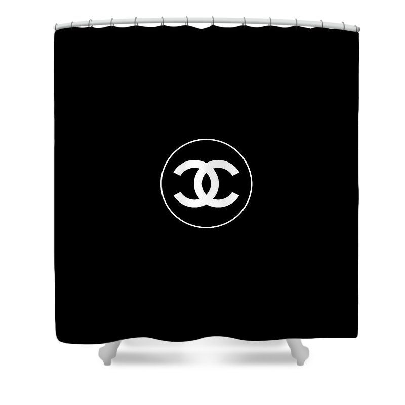 Coco Chanel Shower Curtain For Sale By Tres Chic Curtains For