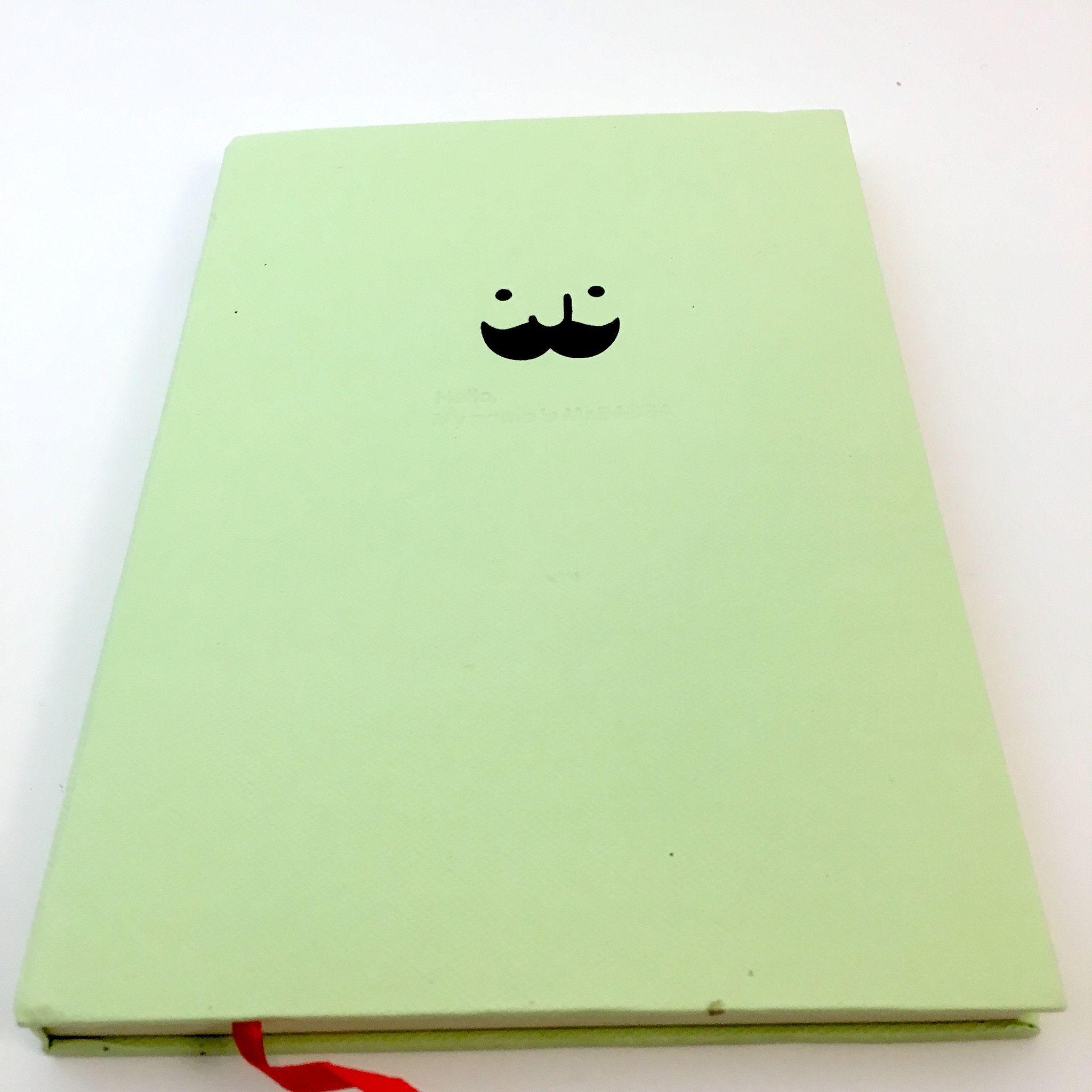 Mr. Babba Mustache Notebook