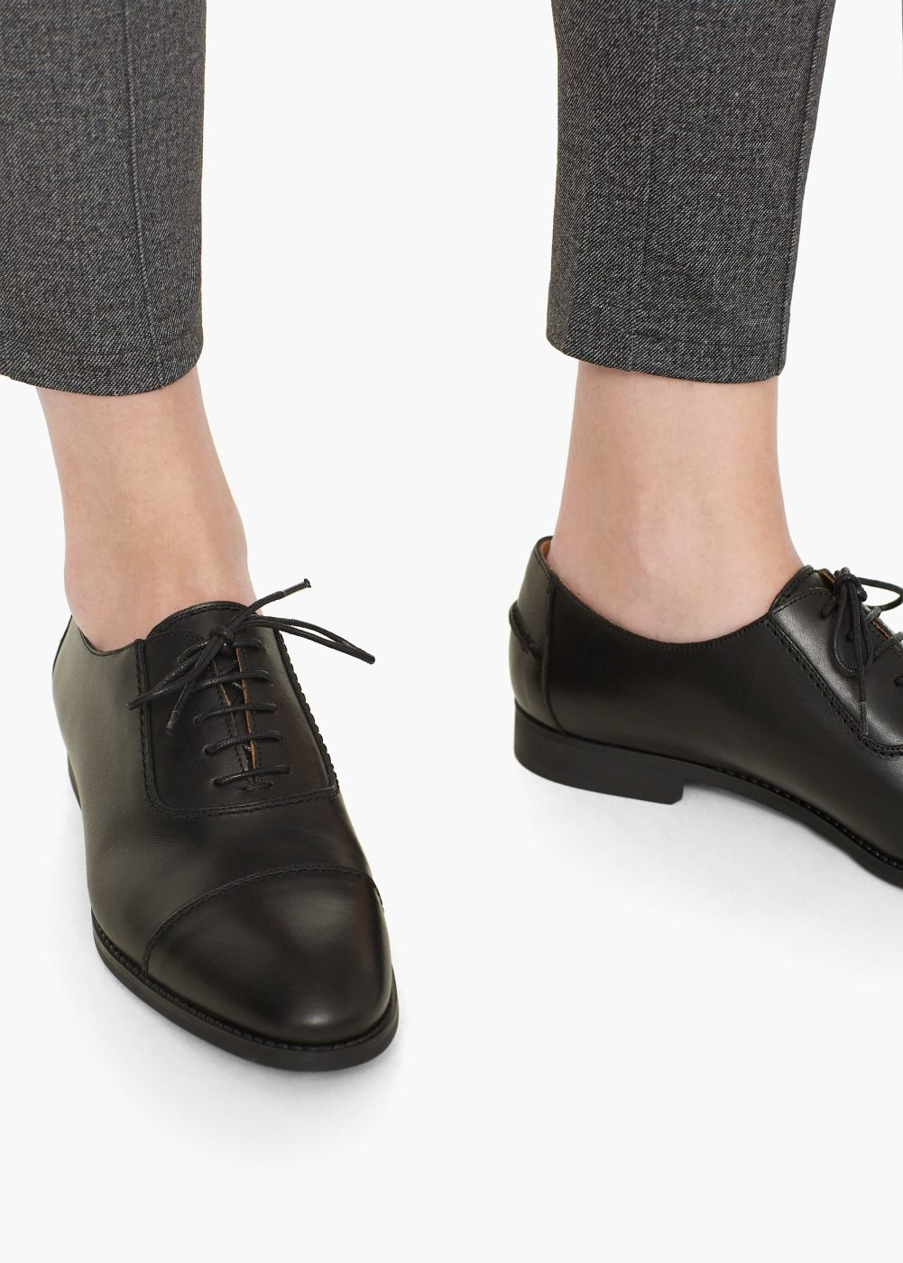 online store 02451 51779 Oxford-schuh aus leder - Damen | Schuhe | Oxford schuh ...