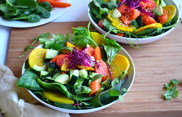 Cleansing spring salad recipe spring salad salad and cleanse lighten up your diet for spring with this cleansing spring salad recipe forumfinder Gallery