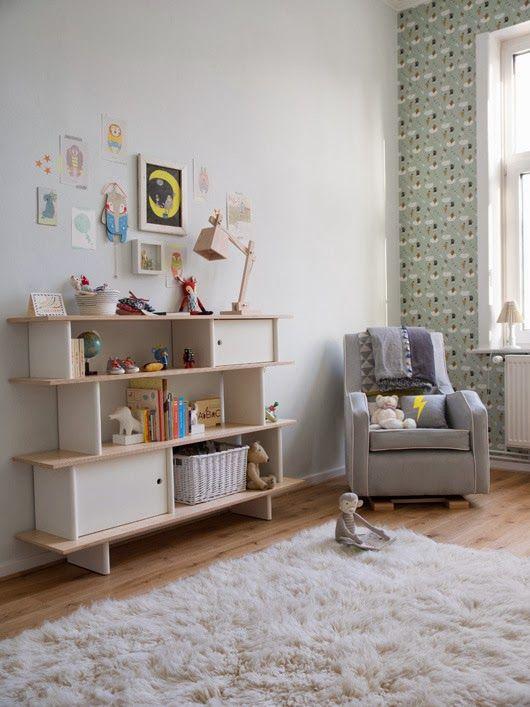 ANTES Y DESPUÉS: Un precioso dormitorio de bebé de estilo nórdico ...