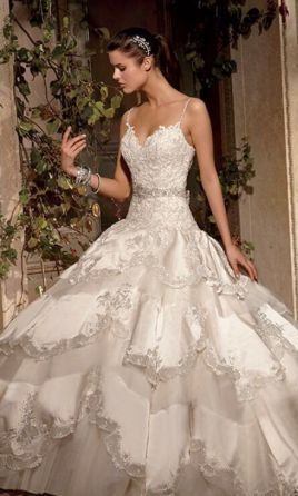 Eve Of Milady Style 4284 Wedding Dress Used Size 4 3 500
